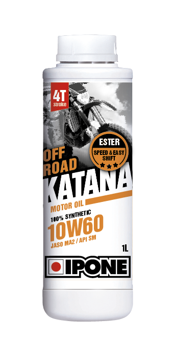 IPONE Масло 4T OFF ROAD KATANA 10W60 1L