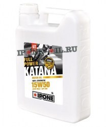 IPONE Масло 4Т Full Power Katana 15W50 4L